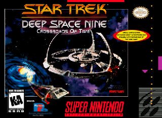 Screenshot Thumbnail / Media File 1 for Star Trek - Deep Space Nine - Crossroads of Time (USA)