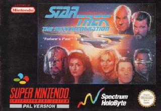 Screenshot Thumbnail / Media File 1 for Star Trek - The Next Generation - Future's Past (Europe)