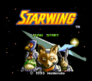 Screenshot Thumbnail / Media File 1 for Starwing (Europe) (Rev A)