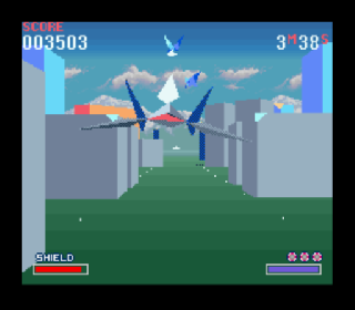 Screenshot Thumbnail / Media File 1 for Starwing (Europe) (Super Weekend Competition)