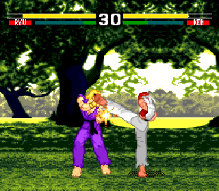 Screenshot Thumbnail / Media File 1 for Street Fighter EX (World) (Unl)