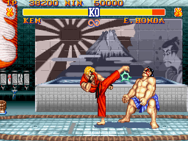 street fighter spielen