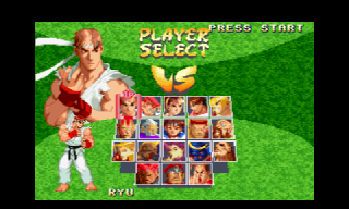 Screenshot Thumbnail / Media File 1 for Street Fighter Zero 2 (Japan)