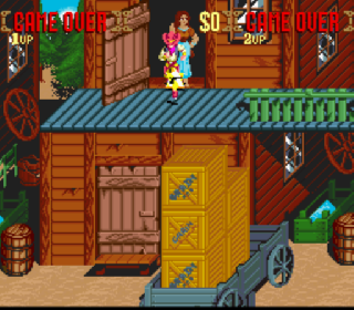 Screenshot Thumbnail / Media File 1 for Sunset Riders (Europe)