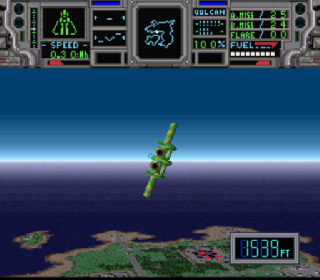 Screenshot Thumbnail / Media File 1 for Super Air Diver (Japan)