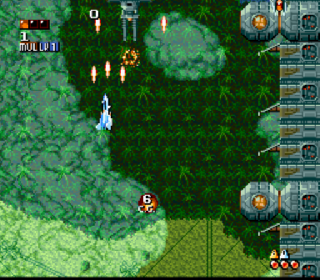 Screenshot Thumbnail / Media File 1 for Super Aleste (Japan)