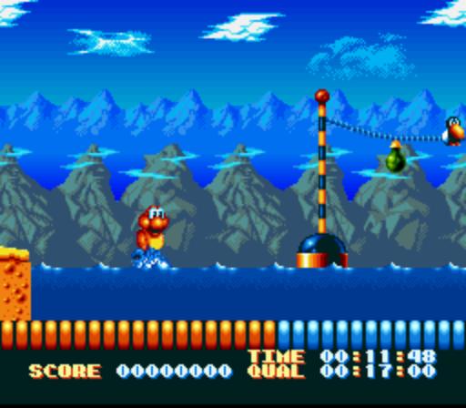 Super Aquatic Games SNES/