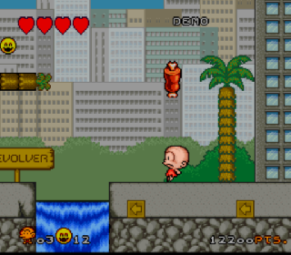 Screenshot Thumbnail / Media File 1 for Super B.C. Kid (Europe)