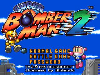 Screenshot Thumbnail / Media File 1 for Super Bomberman 2 (USA)