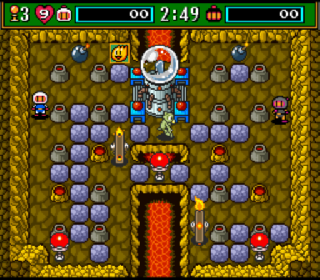 Screenshot Thumbnail / Media File 1 for Super Bomberman 3 (Japan) (Beta)