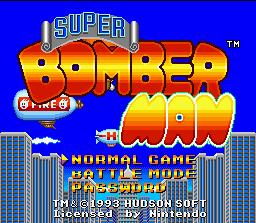 bomberman snes loveroms