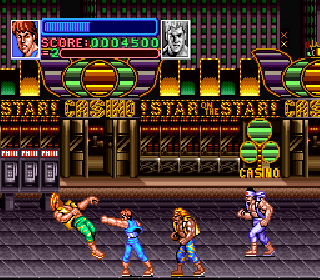 Screenshot Thumbnail / Media File 1 for Super Double Dragon (Europe)
