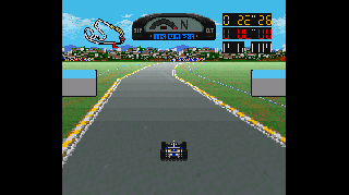 Screenshot Thumbnail / Media File 1 for Super F1 Circus 3 (Japan)