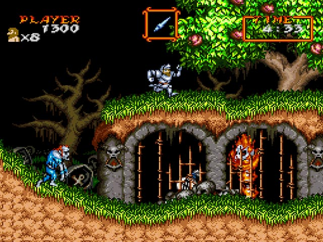 Image result for Super Ghouls 'n Ghosts SNES
