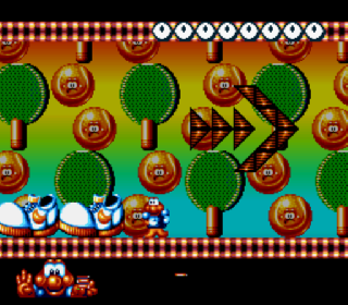 Screenshot Thumbnail / Media File 1 for Super James Pond II (Europe)