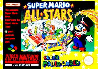 Screenshot Thumbnail / Media File 1 for Super Mario All-Stars + Super Mario World (Europe)