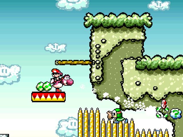 Super Mario World 2: Ilha de Yoshi - SNES