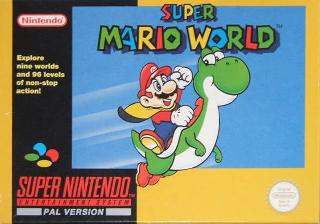 Screenshot Thumbnail / Media File 1 for Super Mario World (Europe) (Rev A)