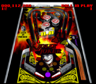 Screenshot Thumbnail / Media File 1 for Super Pinball - Behind the Mask (Japan) (Beta)