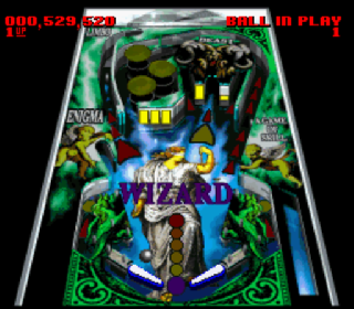 Screenshot Thumbnail / Media File 1 for Super Pinball - Behind the Mask (USA) (Rev A)