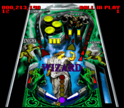 Super Pinball - Behind the Mask (USA) ROM < SNES ROMs