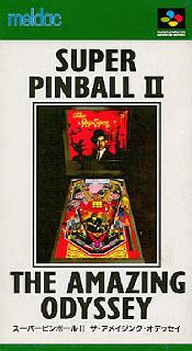 Screenshot Thumbnail / Media File 1 for Super Pinball II - The Amazing Odyssey (Japan)