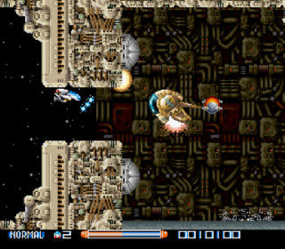 Screenshot Thumbnail / Media File 1 for Super R-Type (Europe)