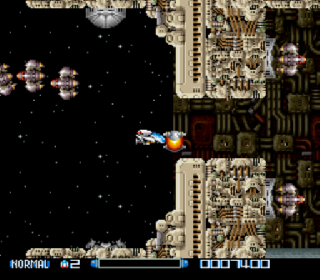 Screenshot Thumbnail / Media File 1 for Super R-Type (Japan)