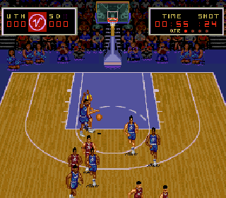 Screenshot Thumbnail / Media File 1 for Super Slam Dunk (USA)