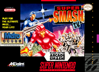 Screenshot Thumbnail / Media File 1 for Super Smash T.V. (Europe)