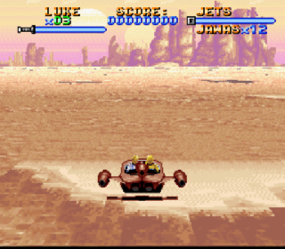 Screenshot Thumbnail / Media File 1 for Super Star Wars (Japan)