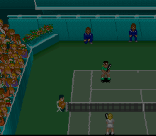 Screenshot Thumbnail / Media File 1 for Super Tennis (Europe) (Rev A)