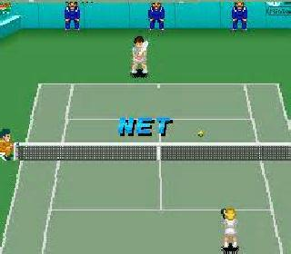 Screenshot Thumbnail / Media File 1 for Super Tennis - World Circuit (Japan)
