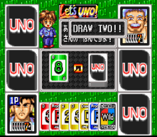 Screenshot Thumbnail / Media File 1 for Super Uno (Japan)