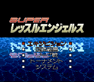 Screenshot Thumbnail / Media File 1 for Super Wrestle Angels (Japan)
