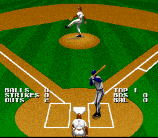 Screenshot Thumbnail Media File 3 For Tecmo Super Baseball USA Beta