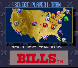 Screenshot Thumbnail / Media File 1 for Tecmo Super Bowl III - Final Edition (Japan)