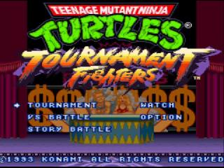 Screenshot Thumbnail / Media File 1 for Teenage Mutant Ninja Turtles IV - Turtles in Time (Australia)