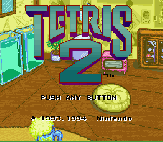 Screenshot Thumbnail / Media File 1 for Tetris 2 (USA) (Rev A)
