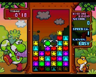 Screenshot Thumbnail / Media File 1 for Tetris Attack (Europe) (En,Ja)