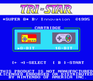 Screenshot Thumbnail / Media File 1 for Tri-Star Super 8 BIOS (USA) (Unl)
