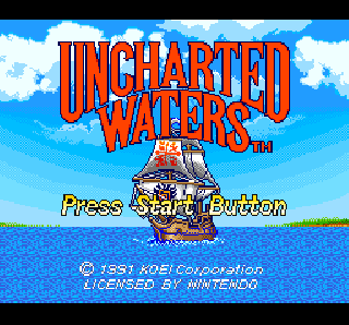 Screenshot Thumbnail / Media File 1 for Uncharted Waters (USA)