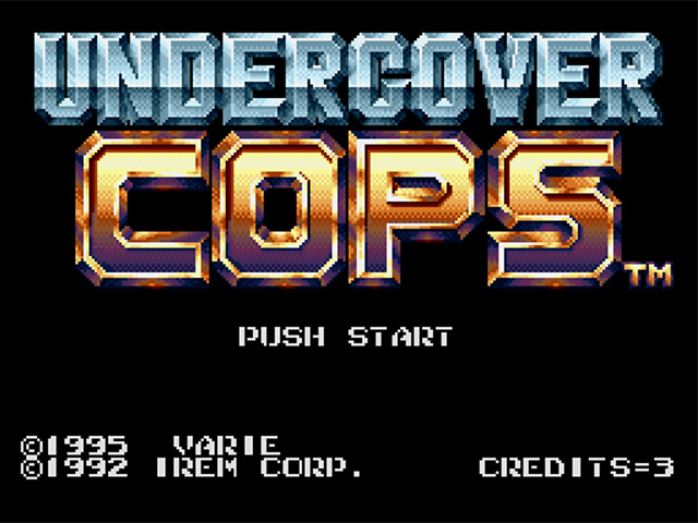 Undercover Cops (Japan) ROM