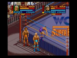 Screenshot Thumbnail / Media File 1 for WCW Super Brawl Wrestling (USA)