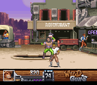 Screenshot Thumbnail / Media File 1 for Wild Guns (Europe)