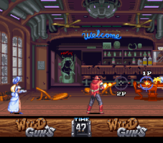 Screenshot Thumbnail / Media File 1 for Wild Guns (Japan)