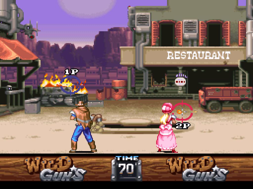 Wild Guns (USA) ROM < SNES ROMs | Emuparadise