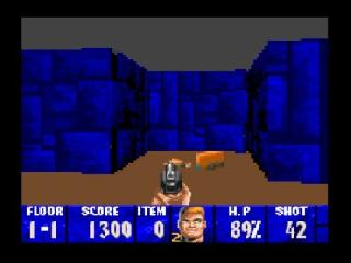 Screenshot Thumbnail / Media File 1 for Wolfenstein 3D (Europe)