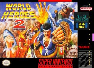 Screenshot Thumbnail / Media File 1 for World Heroes 2 (Japan)