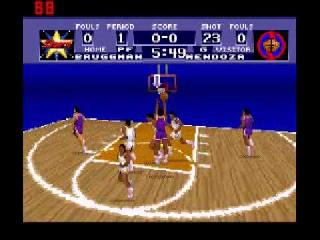 Screenshot Thumbnail / Media File 1 for World League Basketball (Europe)